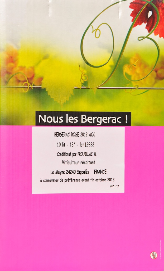Bag-in-Box rosé Bergerac